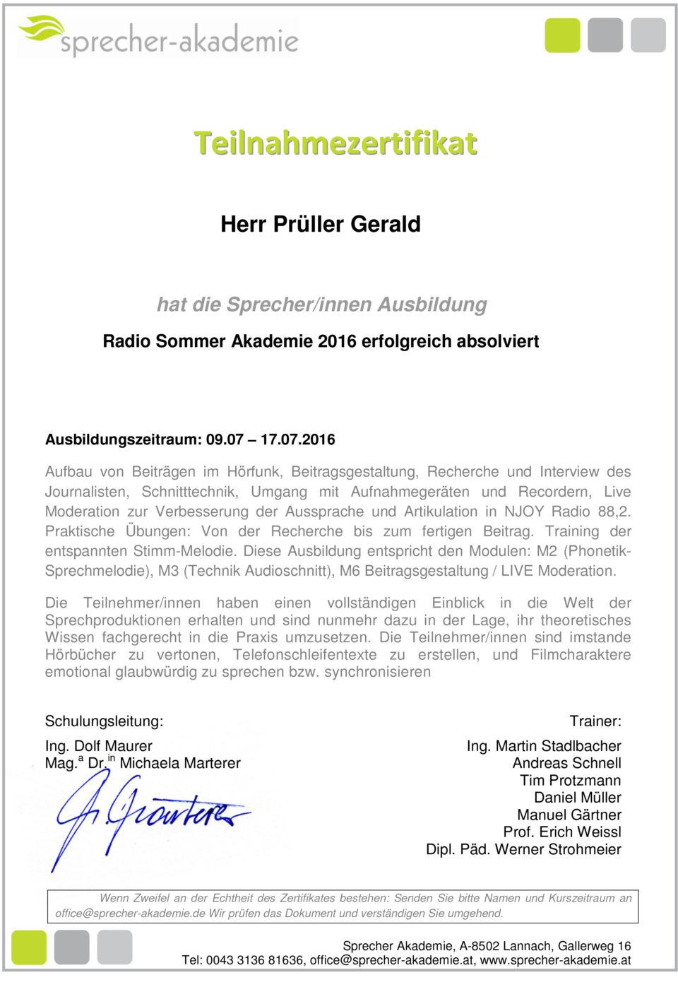 Prüller Gerald_RSA_2016
